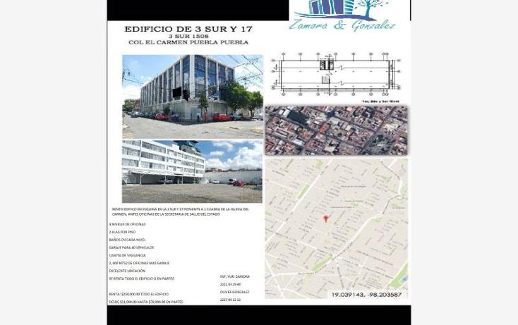 Foto de edificio en renta en  nonumber, el carmen, puebla, puebla, 2042992 No. 28