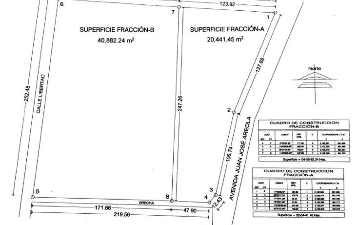 Foto de terreno comercial en venta en  nonumber, el centro, atotonilco el alto, jalisco, 1723790 No. 07