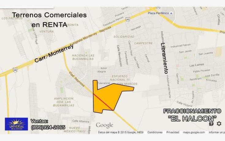 Foto de terreno comercial en renta en  nonumber, el halcón, reynosa, tamaulipas, 1481881 No. 03
