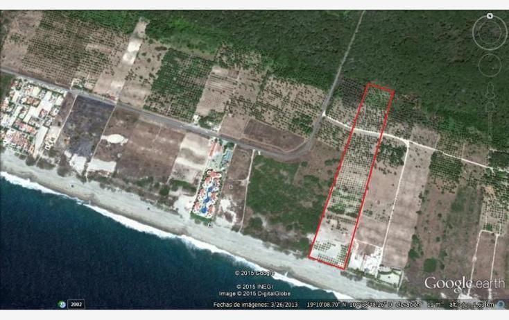 Foto de terreno comercial en venta en  nonumber, el rebalse, cihuatl?n, jalisco, 1583428 No. 01