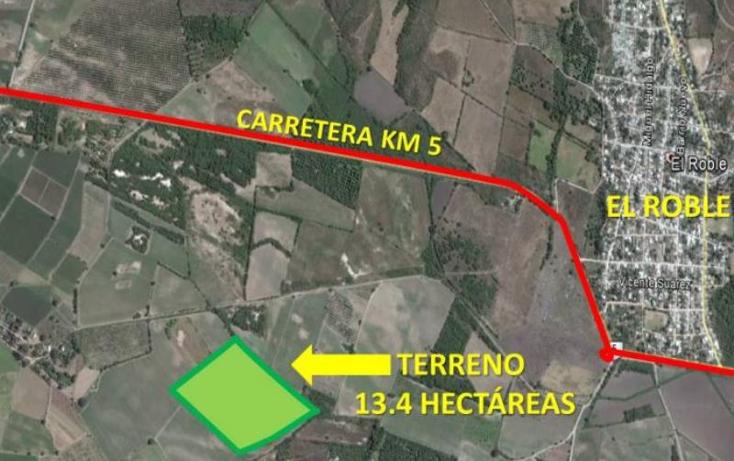 Foto de terreno industrial en venta en  nonumber, el roble, mazatlán, sinaloa, 985557 No. 04