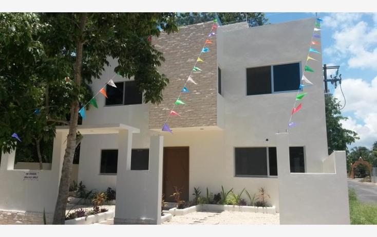 Foto de casa en venta en  nonumber, el tigrillo, solidaridad, quintana roo, 522700 No. 01