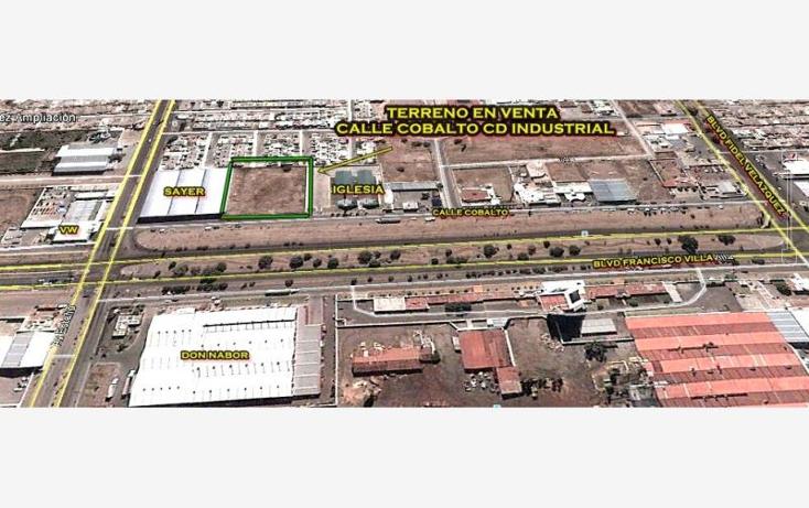Foto de terreno habitacional en venta en  nonumber, fideicomiso ciudad industrial, durango, durango, 956193 No. 01