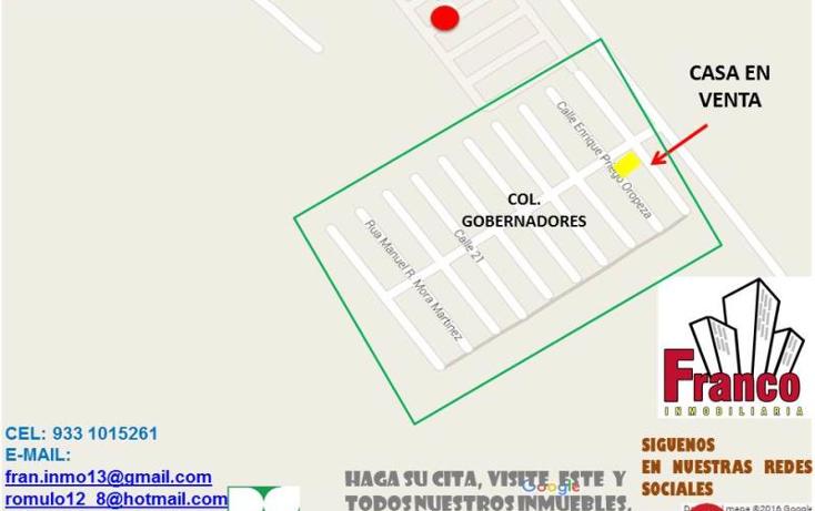 Foto de casa en venta en  nonumber, gobernadores, comalcalco, tabasco, 1934548 No. 08