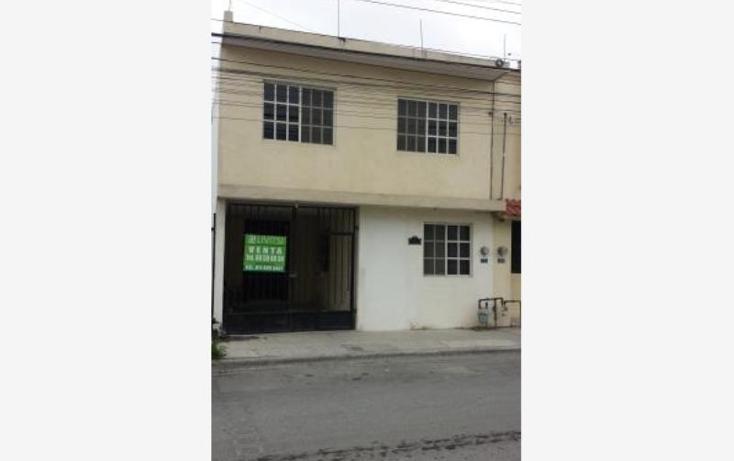 Foto de casa en venta en  nonumber, hacienda los encinos, apodaca, nuevo león, 1628342 No. 01