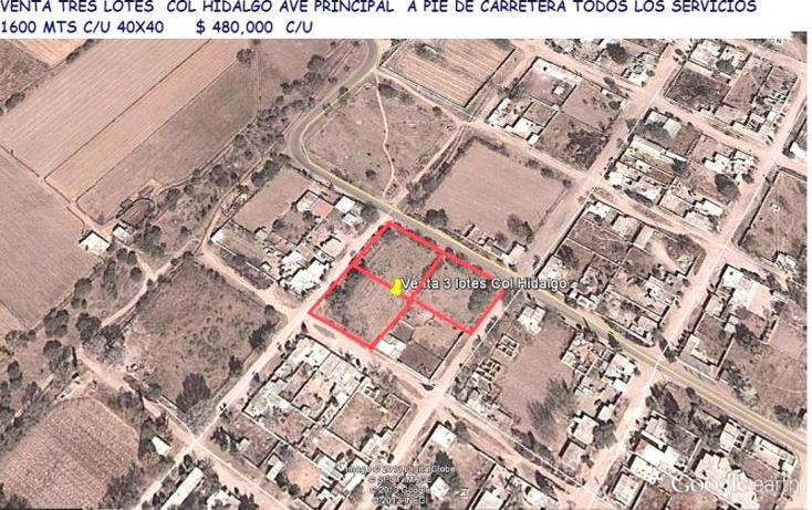 Foto de terreno habitacional en venta en  nonumber, hidalgo, durango, durango, 1415225 No. 05