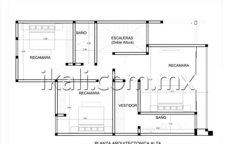 Foto de casa en venta en  nonumber, jardines de tuxpan, tuxpan, veracruz de ignacio de la llave, 1216915 No. 04