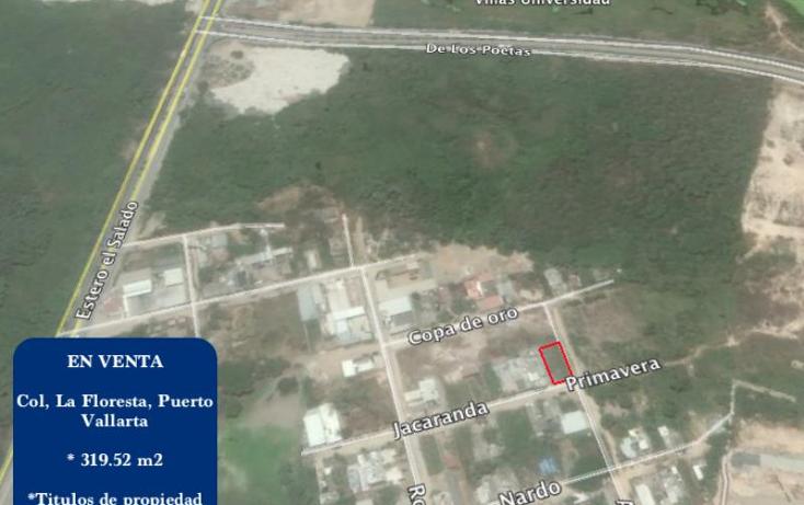 Foto de terreno habitacional en venta en  nonumber, la floresta, puerto vallarta, jalisco, 1998838 No. 04