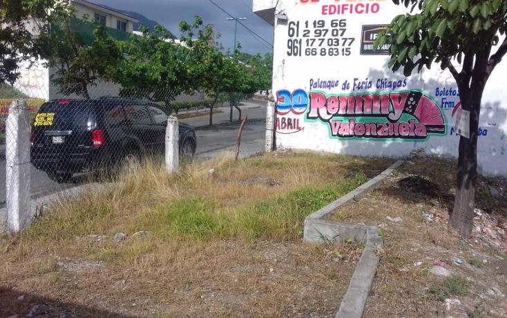 Foto de terreno habitacional en venta en  nonumber, la lomita, tuxtla guti?rrez, chiapas, 2043956 No. 04