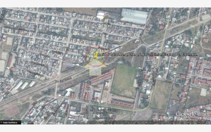 Foto de terreno habitacional en venta en  nonumber, la pur?sima, ecatepec de morelos, m?xico, 1403723 No. 11