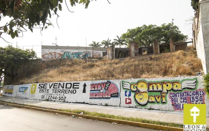 Foto de terreno habitacional en venta en  nonumber, las terrazas, tuxtla gutiérrez, chiapas, 1730456 No. 02