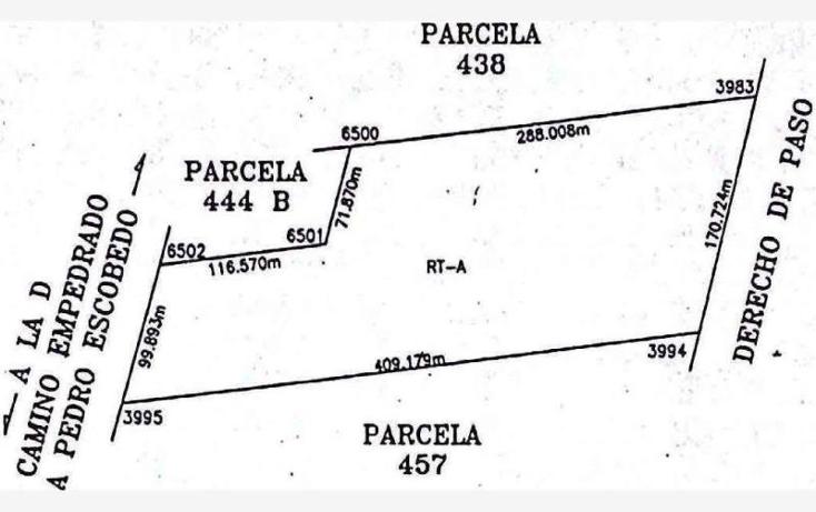 Foto de terreno industrial en venta en  nonumber, lira, pedro escobedo, querétaro, 1214925 No. 14