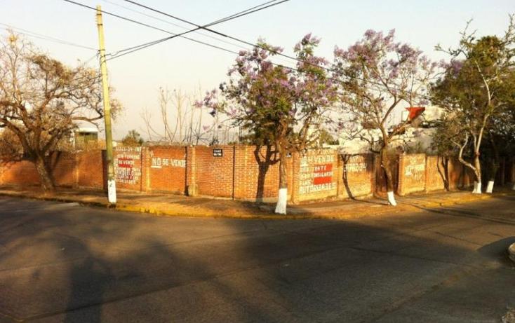 Foto de terreno habitacional en venta en  nonumber, lomas de atzingo, cuernavaca, morelos, 425426 No. 01