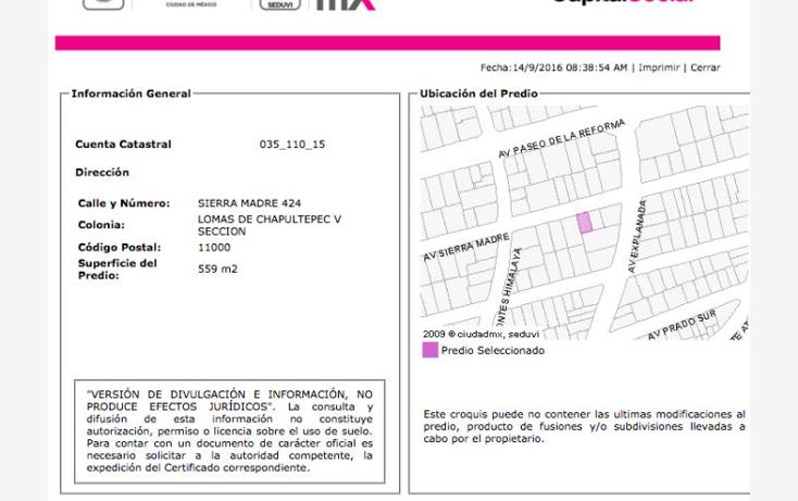Foto de casa en venta en  nonumber, lomas de chapultepec ii sección, miguel hidalgo, distrito federal, 1988264 No. 03