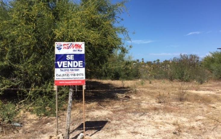 Foto de terreno habitacional en venta en  nonumber, los barriles, la paz, baja california sur, 967443 No. 01