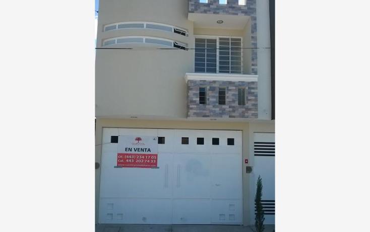 Foto de casa en venta en  nonumber, mariano escobedo, morelia, michoacán de ocampo, 1683230 No. 01
