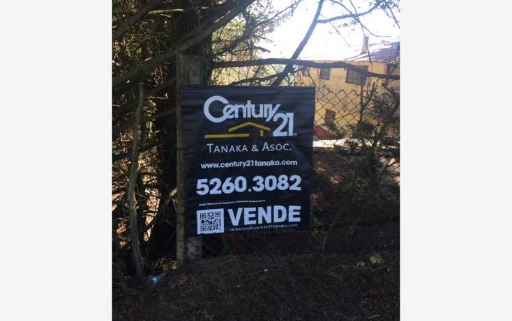 Foto de terreno habitacional en venta en  nonumber, monte de peña, villa del carbón, méxico, 1633646 No. 01