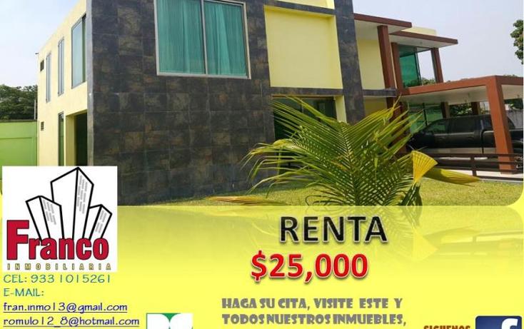 Foto de casa en renta en  nonumber, morelos, comalcalco, tabasco, 1313083 No. 01