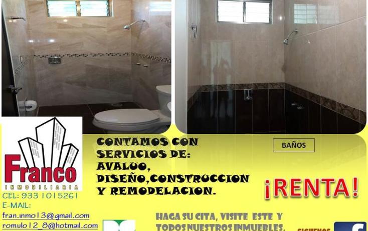 Foto de casa en renta en  nonumber, morelos, comalcalco, tabasco, 1313083 No. 10