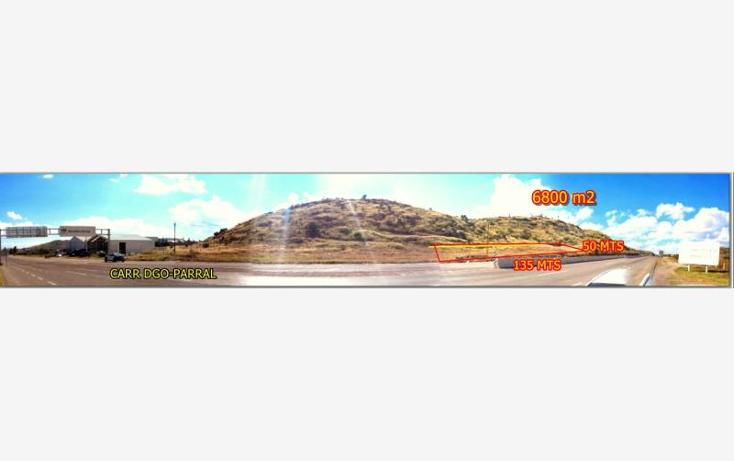 Foto de terreno industrial en venta en  nonumber, morelos, durango, durango, 602221 No. 02