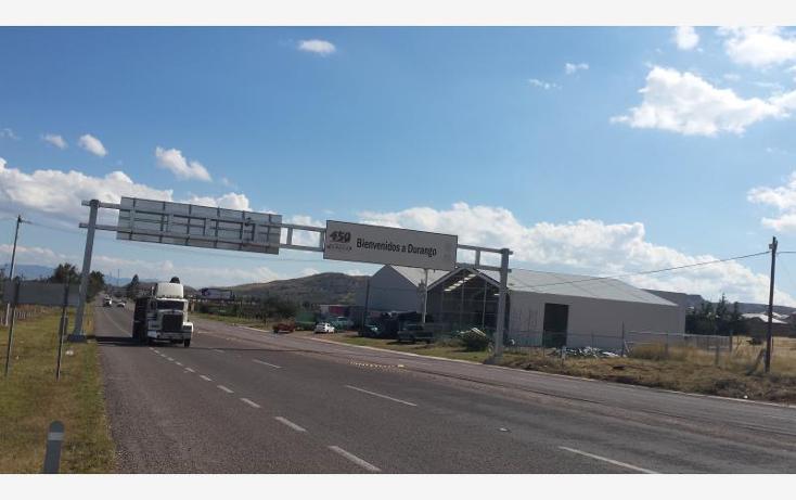 Foto de terreno industrial en venta en  nonumber, morelos, durango, durango, 602221 No. 03