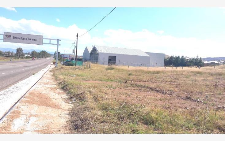 Foto de terreno industrial en venta en  nonumber, morelos, durango, durango, 602221 No. 06