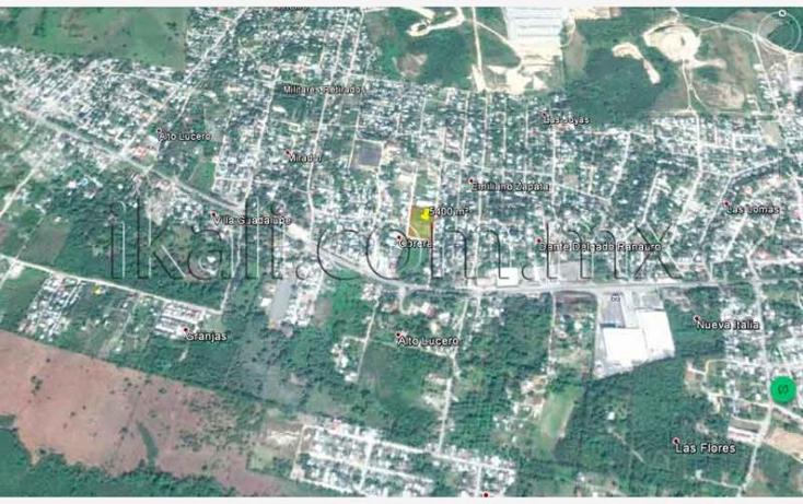 Foto de terreno habitacional en venta en  nonumber, obrera, tuxpan, veracruz de ignacio de la llave, 1218113 No. 10