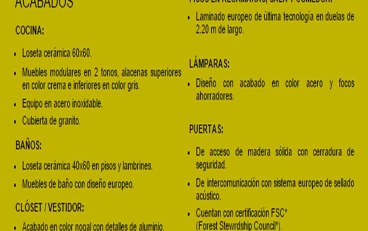Foto de departamento en venta en  nonumber, olivar de los padres, álvaro obregón, distrito federal, 1487165 No. 10
