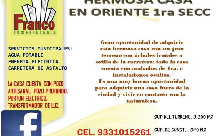 Foto de casa en venta en  nonumber, oriente 5a secc (la candelaria), comalcalco, tabasco, 1054383 No. 03