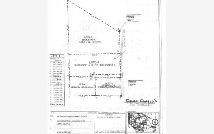 Foto de terreno habitacional en venta en  nonumber, palo blanco (ejido), reynosa, tamaulipas, 1372179 No. 04