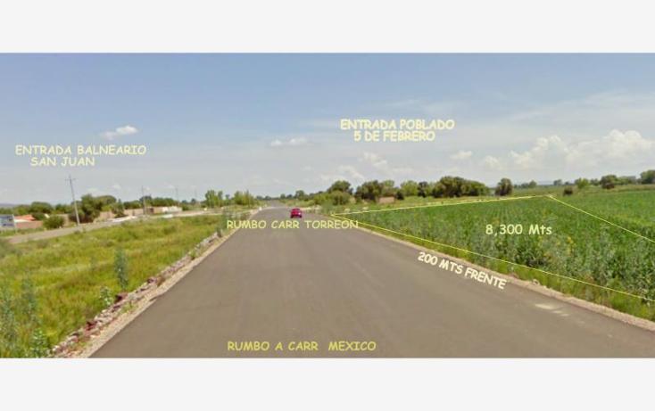 Foto de terreno comercial en venta en  nonumber, parras de la fuente, durango, durango, 491171 No. 02