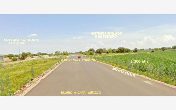 Foto de terreno industrial en venta en  nonumber, parras de la fuente, durango, durango, 602219 No. 02