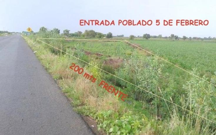 Foto de terreno industrial en venta en  nonumber, parras de la fuente, durango, durango, 602219 No. 05