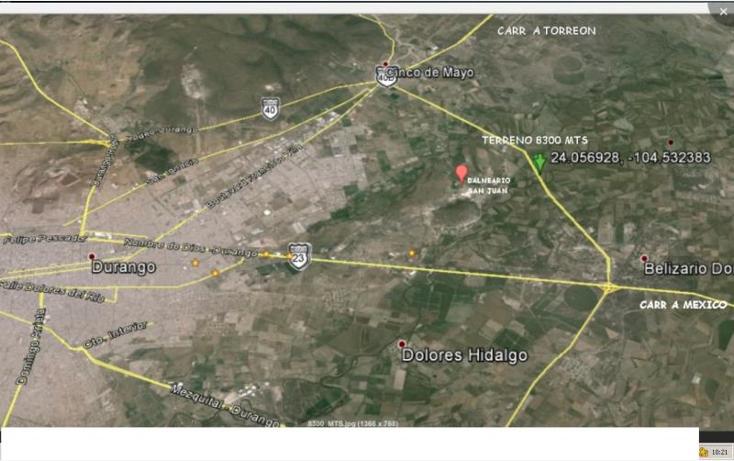 Foto de terreno industrial en venta en  nonumber, parras de la fuente, durango, durango, 602219 No. 12