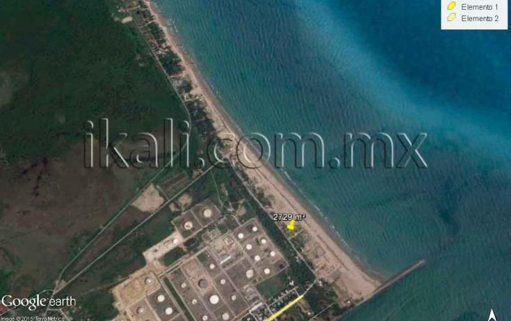 Foto de terreno habitacional en venta en  nonumber, playa norte, tuxpan, veracruz de ignacio de la llave, 1238437 No. 07