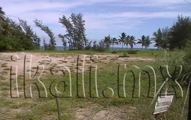 Foto de terreno habitacional en venta en  nonumber, playa norte, tuxpan, veracruz de ignacio de la llave, 584436 No. 01