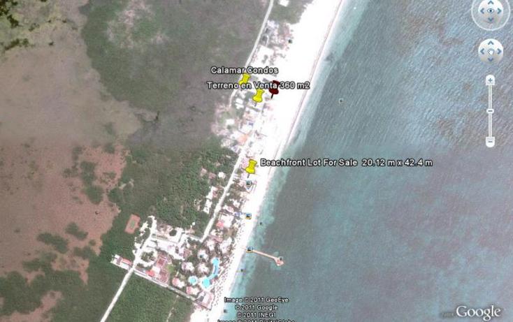 Foto de terreno habitacional en venta en  nonumber, puerto morelos, benito juárez, quintana roo, 522861 No. 02