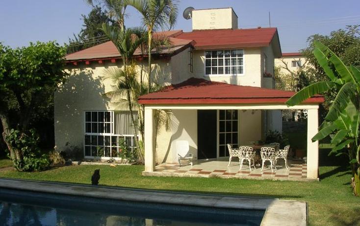 Foto de casa en venta en  nonumber, reforma, cuernavaca, morelos, 373986 No. 01