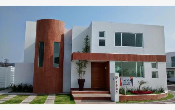Foto de casa en venta en  nonumber, residencial el refugio, quer?taro, quer?taro, 1846888 No. 01