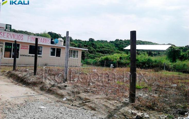 Foto de terreno habitacional en venta en  nonumber, salvador allende, poza rica de hidalgo, veracruz de ignacio de la llave, 1629190 No. 01