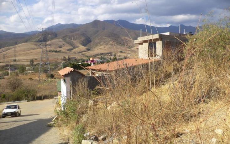 Foto de terreno habitacional en venta en  nonumber, san andres huayapam, san andrés huayápam, oaxaca, 1428053 No. 06