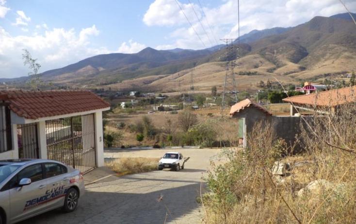 Foto de terreno habitacional en venta en  nonumber, san andres huayapam, san andrés huayápam, oaxaca, 1428053 No. 07