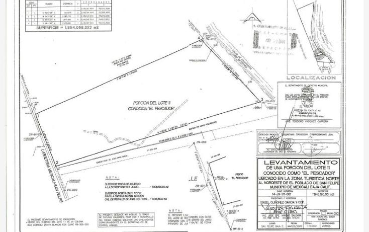 Foto de terreno comercial en venta en  nonumber, san felipe, mexicali, baja california, 1335959 No. 03