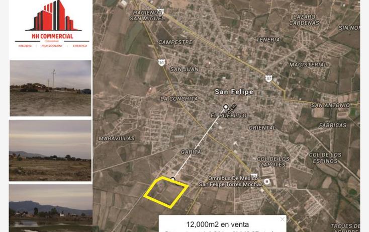 Foto de terreno habitacional en venta en  nonumber, san felipe, san felipe, guanajuato, 1340939 No. 01