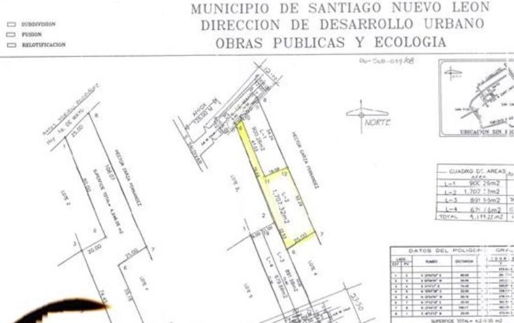 Foto de terreno habitacional en venta en  nonumber, san francisco, santiago, nuevo le?n, 2040202 No. 03