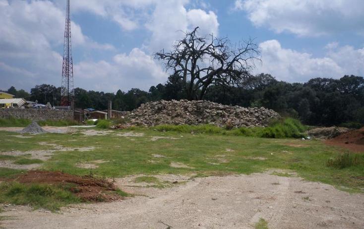 Foto de terreno comercial en venta en  nonumber, san jeronimo zacapexco, villa del carbón, méxico, 582133 No. 02
