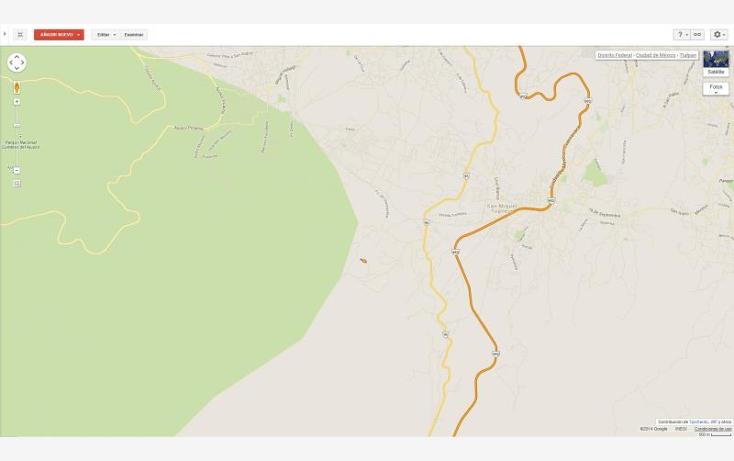 Foto de terreno habitacional en venta en  nonumber, san miguel topilejo, tlalpan, distrito federal, 878997 No. 10