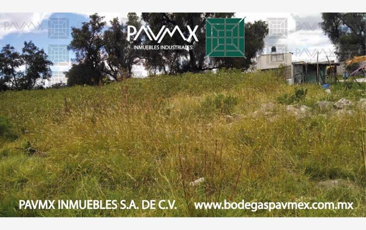 Foto de terreno habitacional en venta en  nonumber, san miguel xometla, acolman, m?xico, 531809 No. 10