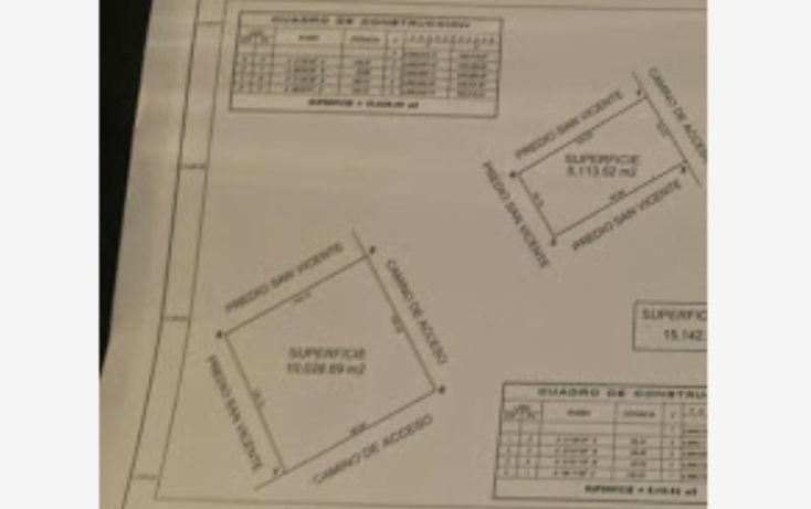 Foto de terreno habitacional en venta en  nonumber, san vicente de chupaderos, durango, durango, 602234 No. 08