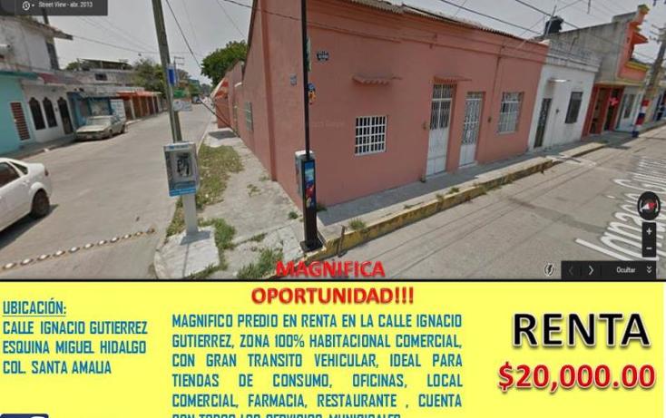 Foto de terreno comercial en renta en  nonumber, santa amalia, comalcalco, tabasco, 1735222 No. 02